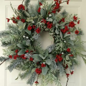 Winter Floral Wreath Making Workshop with Stephanie Green: December 10th (3pm-5pm)